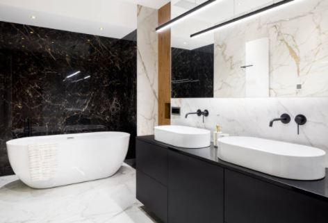 Muebles de Baño Color Negro